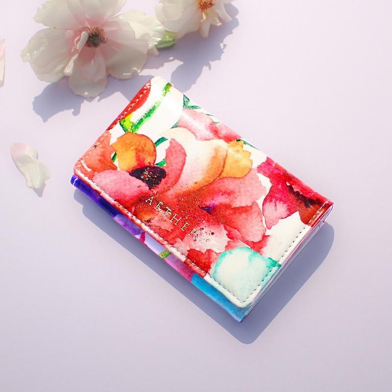 エナメルレザー「ピヴォワンヌ」カードケース