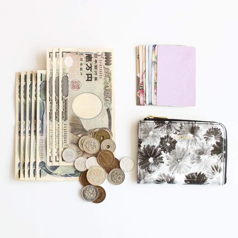 「ノワール」ミニL字財布