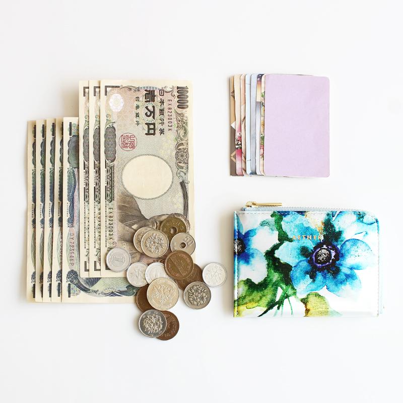 「エトワールブルー」ミニL字財布