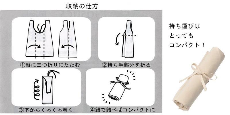 エーテル誕生月特典のエコバッグ使用方法