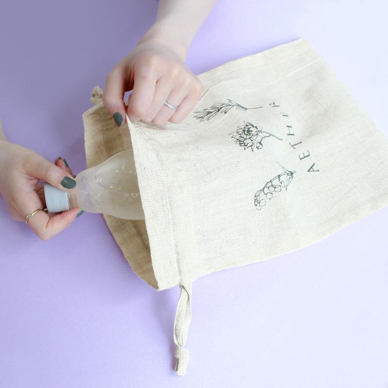 エーテル誕生月特典のオリジナル巾着袋