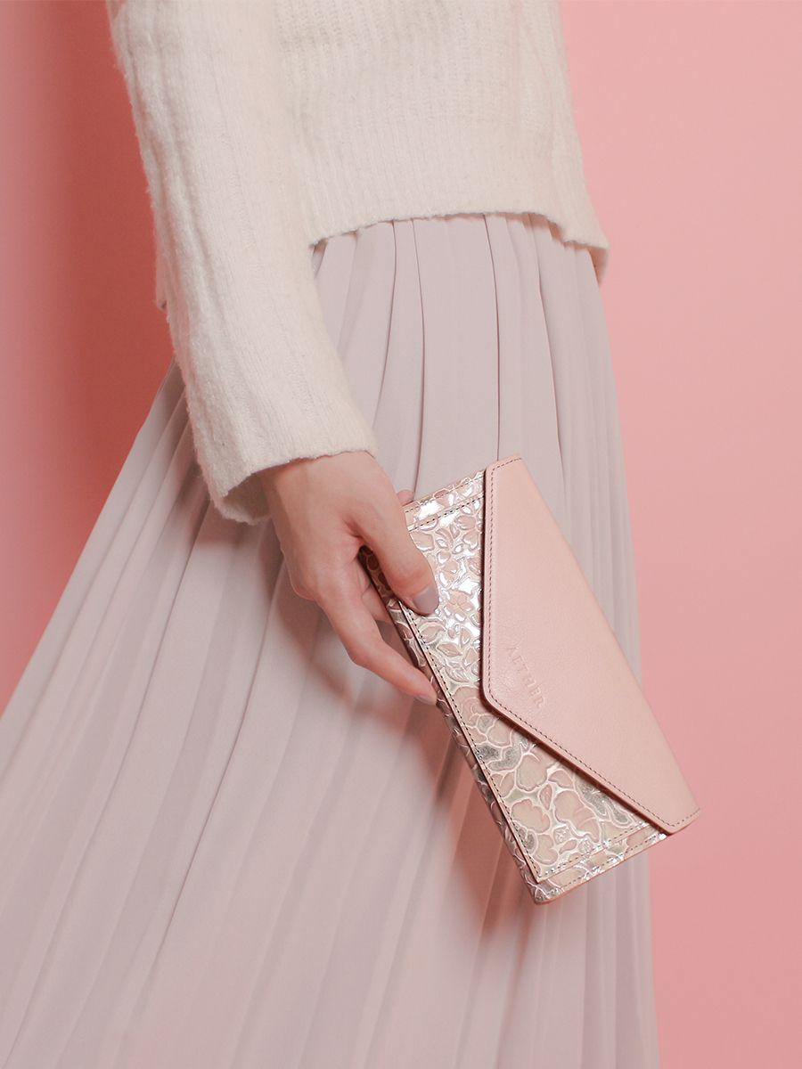 「シュクレ」レター型長財布