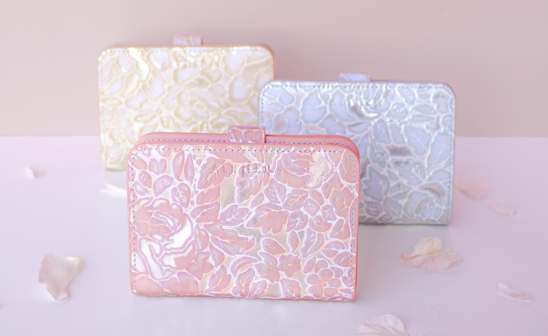 【1月15日発売】「シュクレ」二つ折り財布