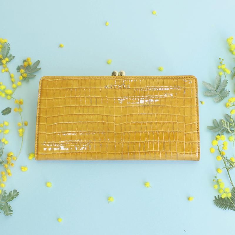 ミモザのニナ長財布