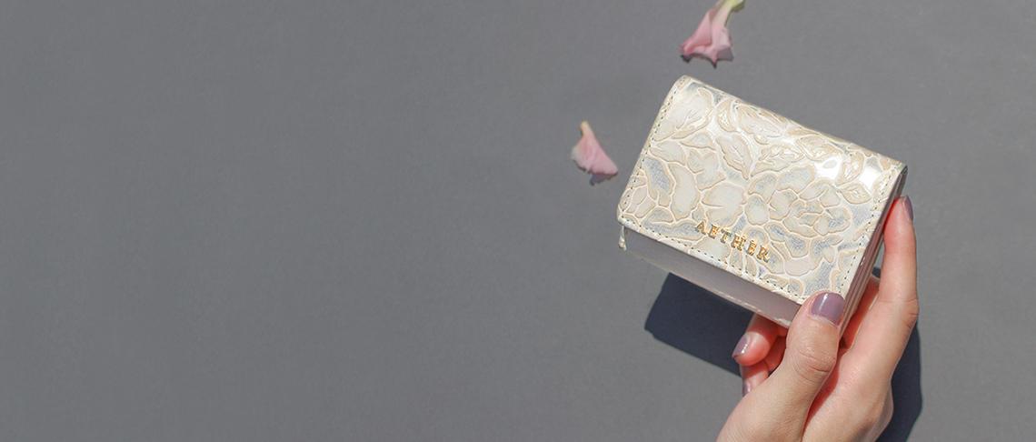 花柄ミニ財布