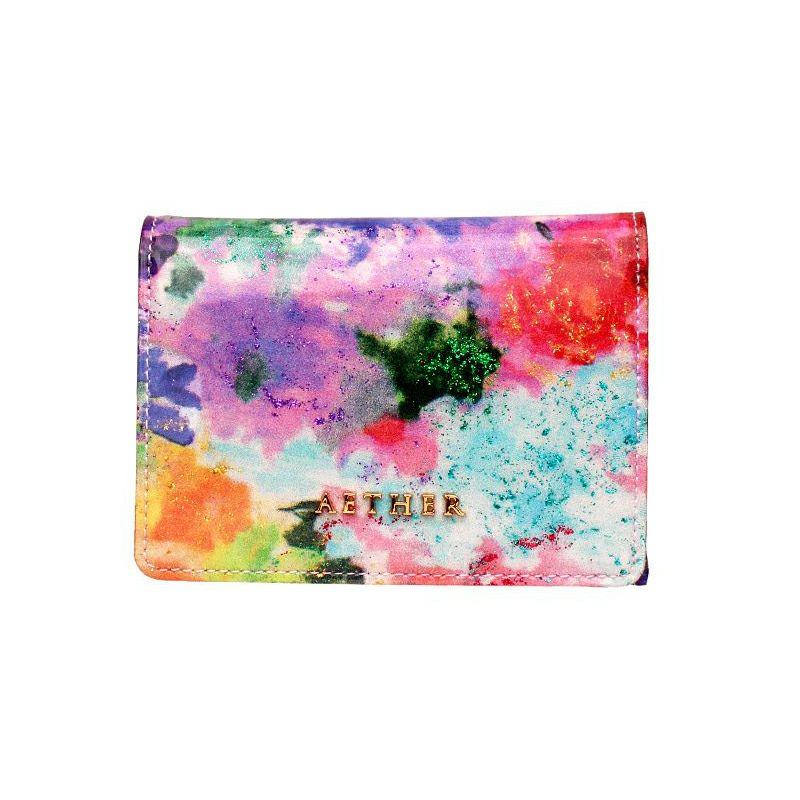 エナメルレザー「フルール」ミニ財布(4WAY)
