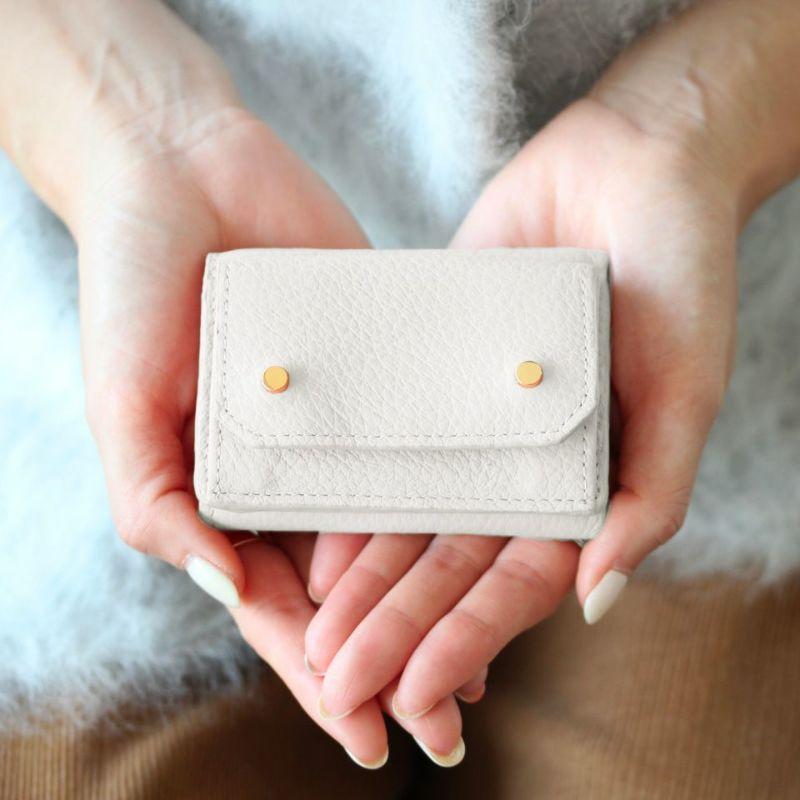 「アミュレット」ミニ財布(三つ折り)