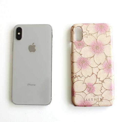 「サクラ」スマホケース(iPhoneX/XS対応)