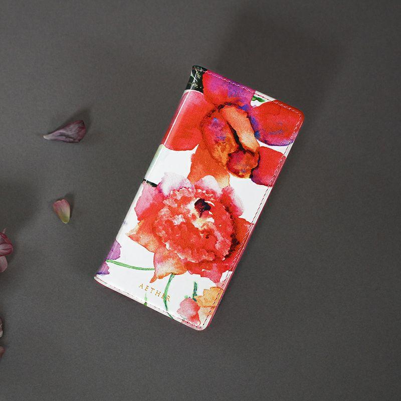 プレゼント スマホケース 手帳型 エーテル
